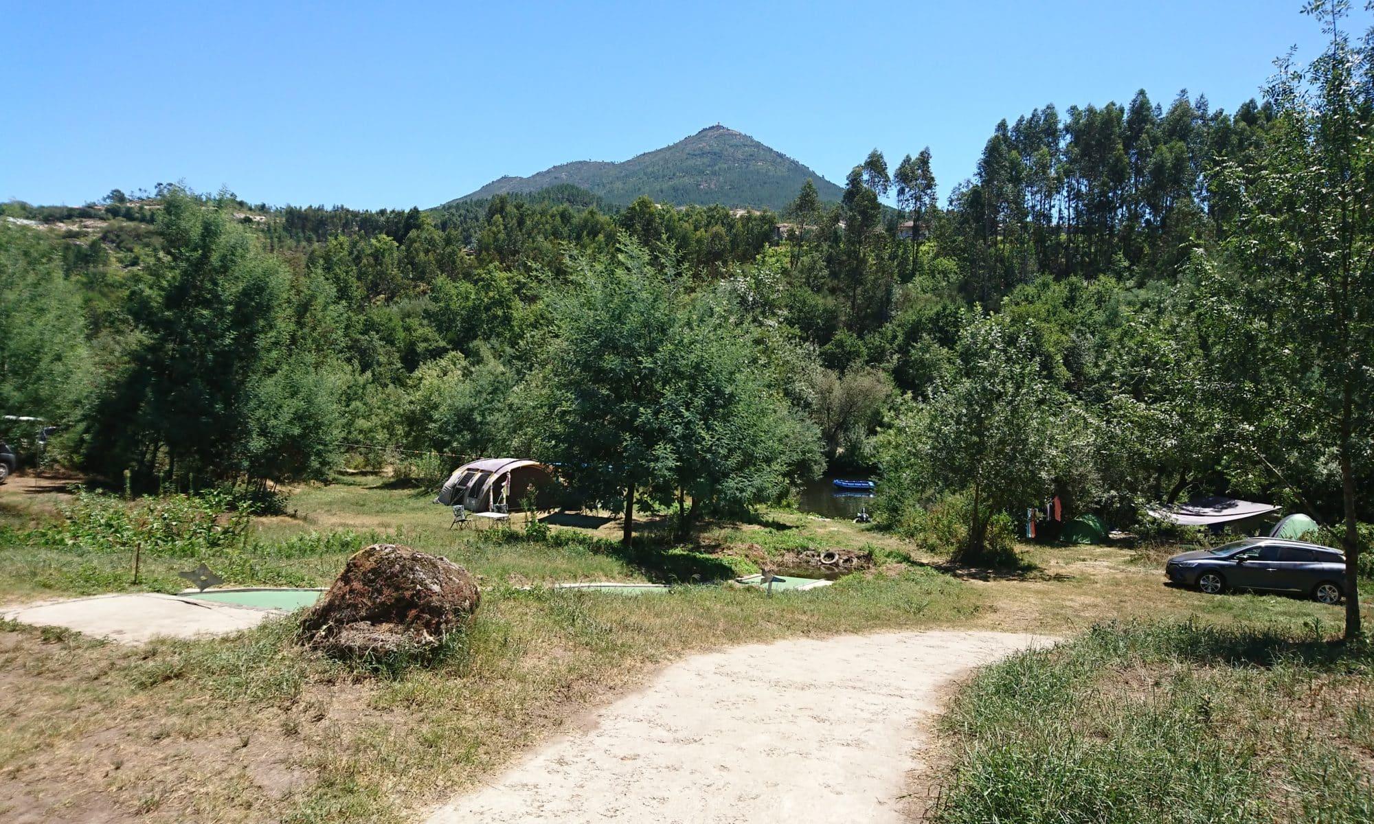 Camping op wijnboerderij