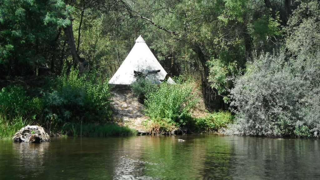 Natural camping in North Portugal