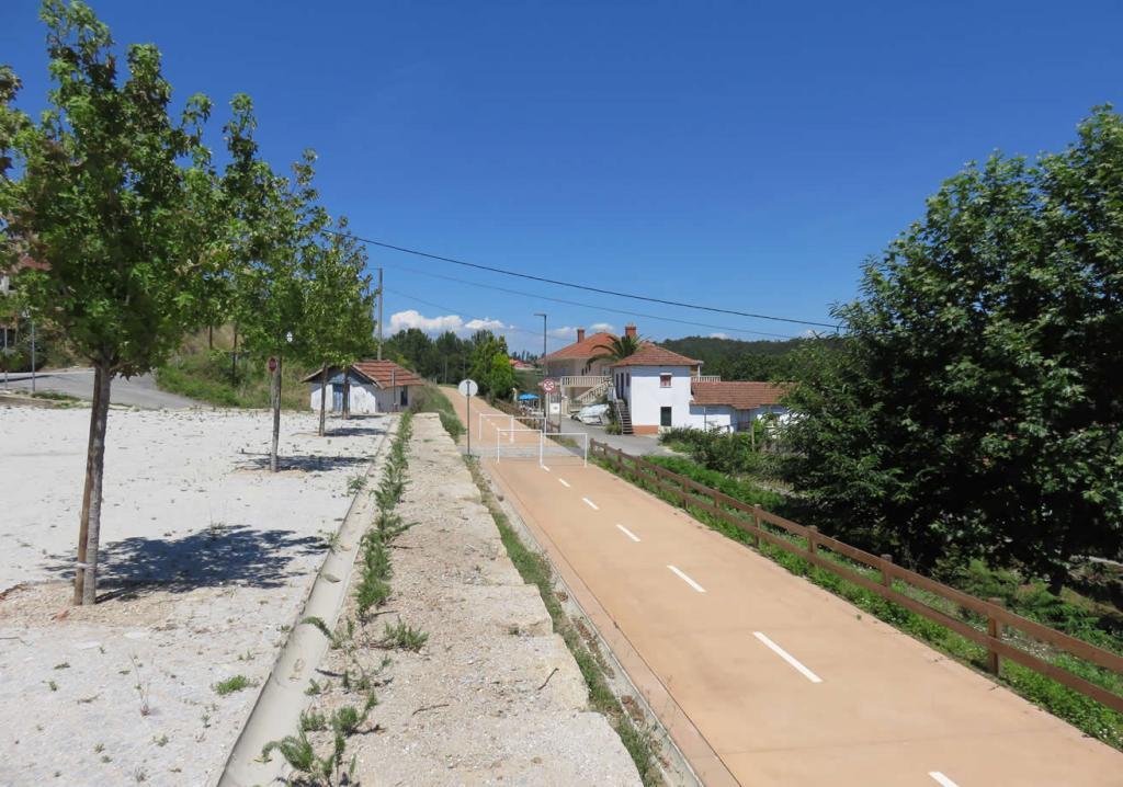 Fietspad de ecopista, heerlijk fietsen aktiviteiten