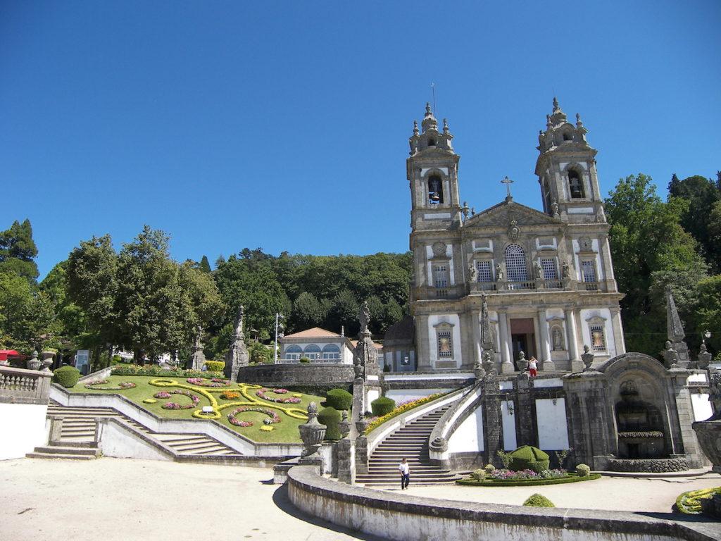 De Kerk in Braga Bom Jesus