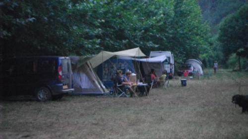 Campingplaatsen-schaduw