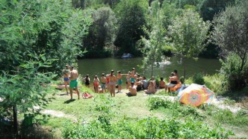 gezelligheid-rivier