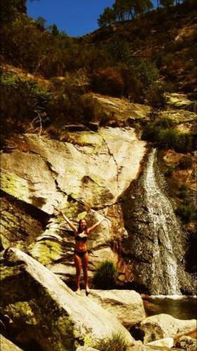 zwemmen-waterval