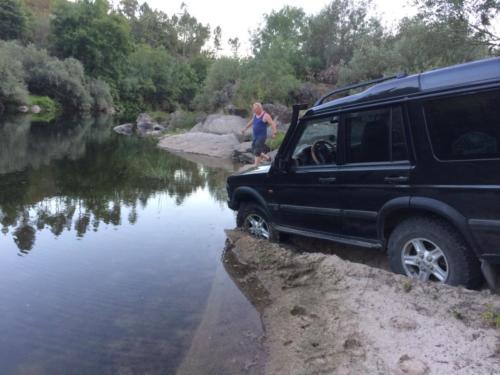 terreinauto-rivier